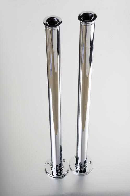 K-1 – Chrome Stand Pipe x2